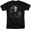 Batman Arkham Knight t-shirt Face Off mens black