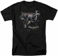 Batman Arkham Knight t-shirt Grapple mens black