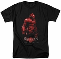 Batman Arkham Knight t-shirt Knight mens black