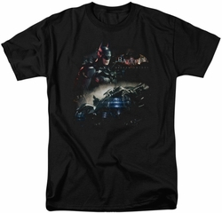 Batman Arkham Knight t-shirt Knight Rider mens black
