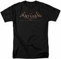 Batman Arkham Knight t-shirt Logo mens black