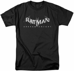 Batman Arkham Knight t-shirt Splinter Logo mens black