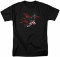 Batman Arkham Knight t-shirt Tech mens black