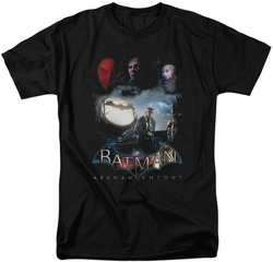 Batman Arkham Knight t-shirt Villain Storm mens black