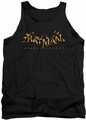 Batman Arkham Knight tank top Ak Flame Logo adult black