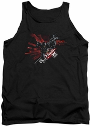 Batman Arkham Knight tank top Ak Tech adult black