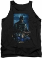 Batman Arkham Knight tank top Batmobile adult black
