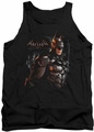 Batman Arkham Knight tank top Dark Knight adult black