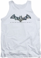 Batman Arkham Knight tank top Descending Logo adult white