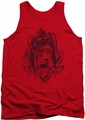 Harley Quinn tank top Diamond adult red