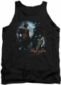 Batman Arkham Knight tank top Face Off adult black
