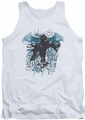 Batman Arkham Knight tank top I Know adult white