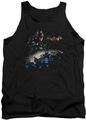 Batman Arkham Knight tank top Knight Rider adult black