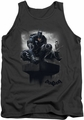 Batman Arkham Knight tank top Perched adult charcoal