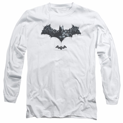 Batman Arkham Origins adult long-sleeved shirt Bat Of Enemies white