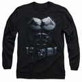 Batman Arkham Origins adult long-sleeved shirt Costume black