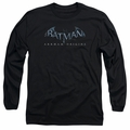 Batman Arkham Origins adult long-sleeved shirt Logo black
