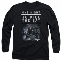 Batman Arkham Origins adult long-sleeved shirt One Night black