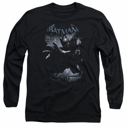 Batman Arkham Origins adult long-sleeved shirt Out Of The Shadows black