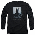 Batman Arkham Origins adult long-sleeved shirt Two Sides black