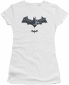 Batman Arkham Origins juniors sheer t-shirt Bat Of Enemies white