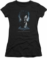 Batman Arkham Origins juniors sheer t-shirt Joker black