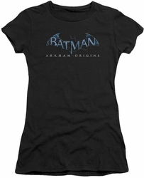 Batman Arkham Origins juniors sheer t-shirt Logo black