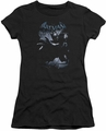 Batman Arkham Origins juniors sheer t-shirt Out Of The Shadows black