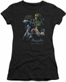 Batman Arkham Origins juniors sheer t-shirt Punch black