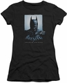 Batman Arkham Origins juniors sheer t-shirt Two Sides black
