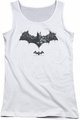 Batman Arkham Origins juniors tank top Bat Of Enemies white