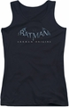Batman Arkham Origins juniors tank top Logo black