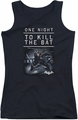 Batman Arkham Origins juniors tank top One Night black