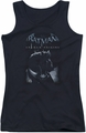 Batman Arkham Origins juniors tank top Perched Cat black