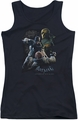 Batman Arkham Origins juniors tank top Punch black