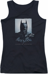 Batman Arkham Origins juniors tank top Two Sides black