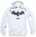 Batman Arkham Origins pull-over hoodie Bat Of Enemies adult white