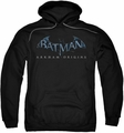 Batman Arkham Origins pull-over hoodie Logo adult black