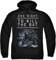 Batman Arkham Origins pull-over hoodie One Night adult black
