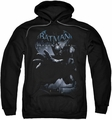 Batman Arkham Origins pull-over hoodie Out Of The Shadows adult black