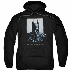 Batman Arkham Origins pull-over hoodie Two Sides adult black