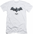 Batman Arkham Origins slim-fit t-shirt Bat Of Enemies mens white