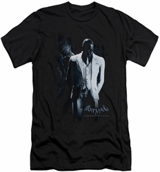 Batman Arkham Origins slim-fit t-shirt Black Mask mens black