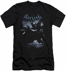 Batman Arkham Origins slim-fit t-shirt Out Of The Shadows mens black