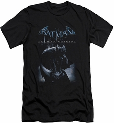 Batman Arkham Origins slim-fit t-shirt Perched Cat mens black