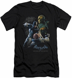 Batman Arkham Origins slim-fit t-shirt Punch mens black