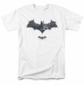Batman Arkham Origins t-shirt Bat of Enemies mens white