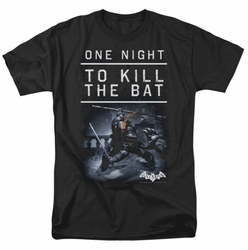 Batman Arkham Origins t-shirt One Night mens black