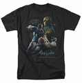 Batman Arkham Origins t-shirt Punch mens black