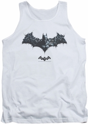 Batman Arkham Origins tank top Bat Of Enemies adult white